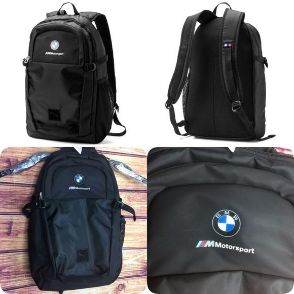 Puma Other - BMW Motorsport backpack 🎒 black puma
